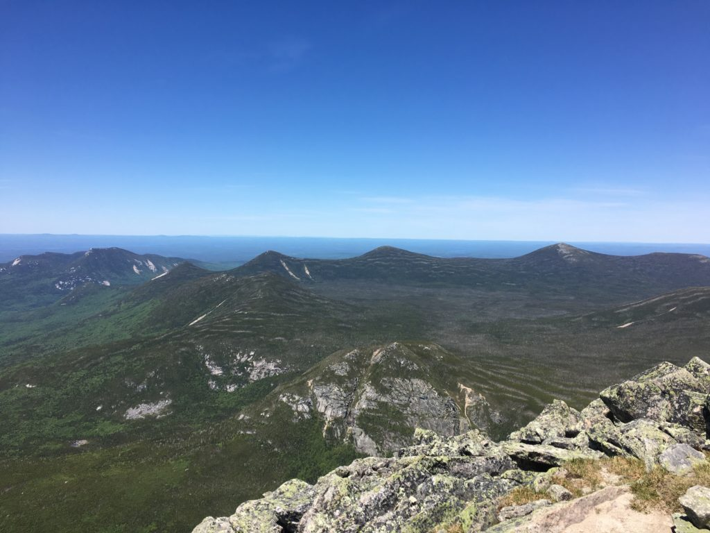 Hunt Trail Views on Mount Katahdin