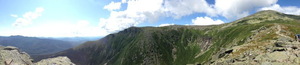 Pano from Lions Head of Tuckerman Ravine