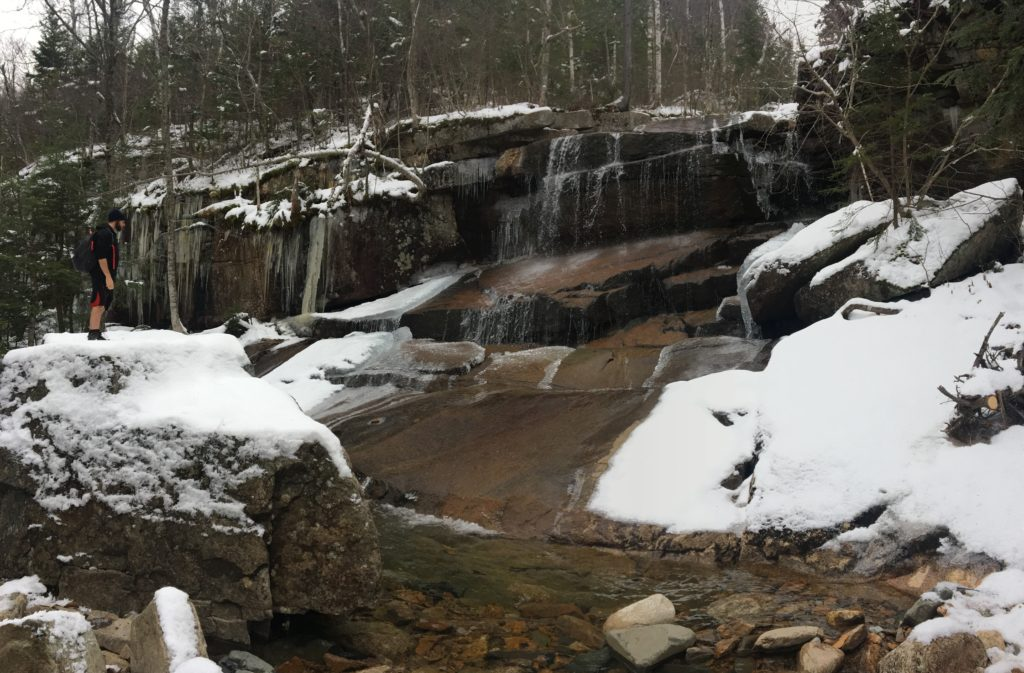 Champney Falls from Trail