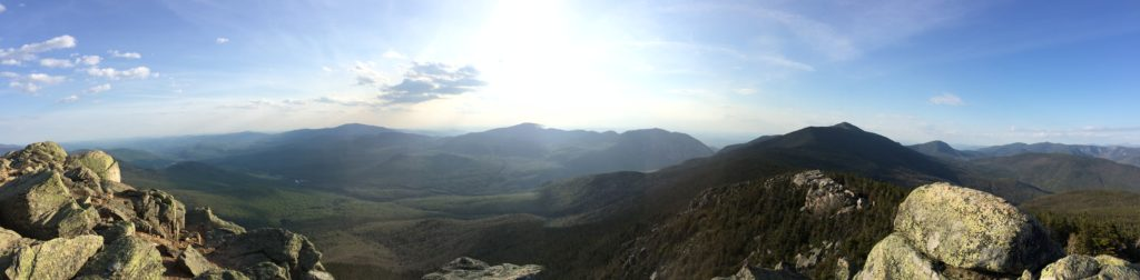 Panoramic from Summit of Mount Liberty