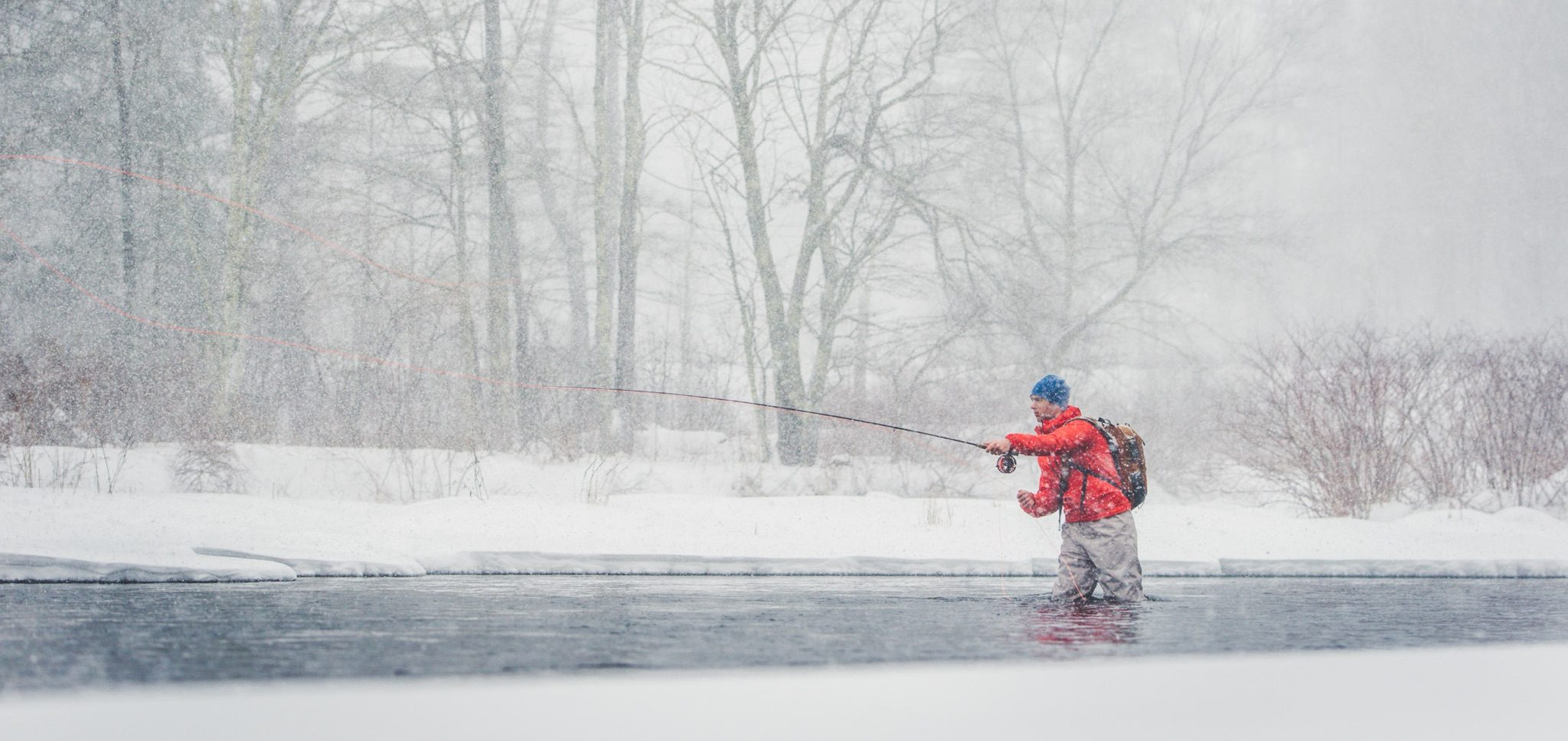Winter Fly Fishing Tips – Only For The Boldest of Anglers