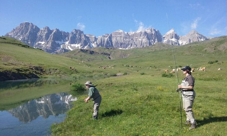 Fly Fishing In the Pyrenees of Spain