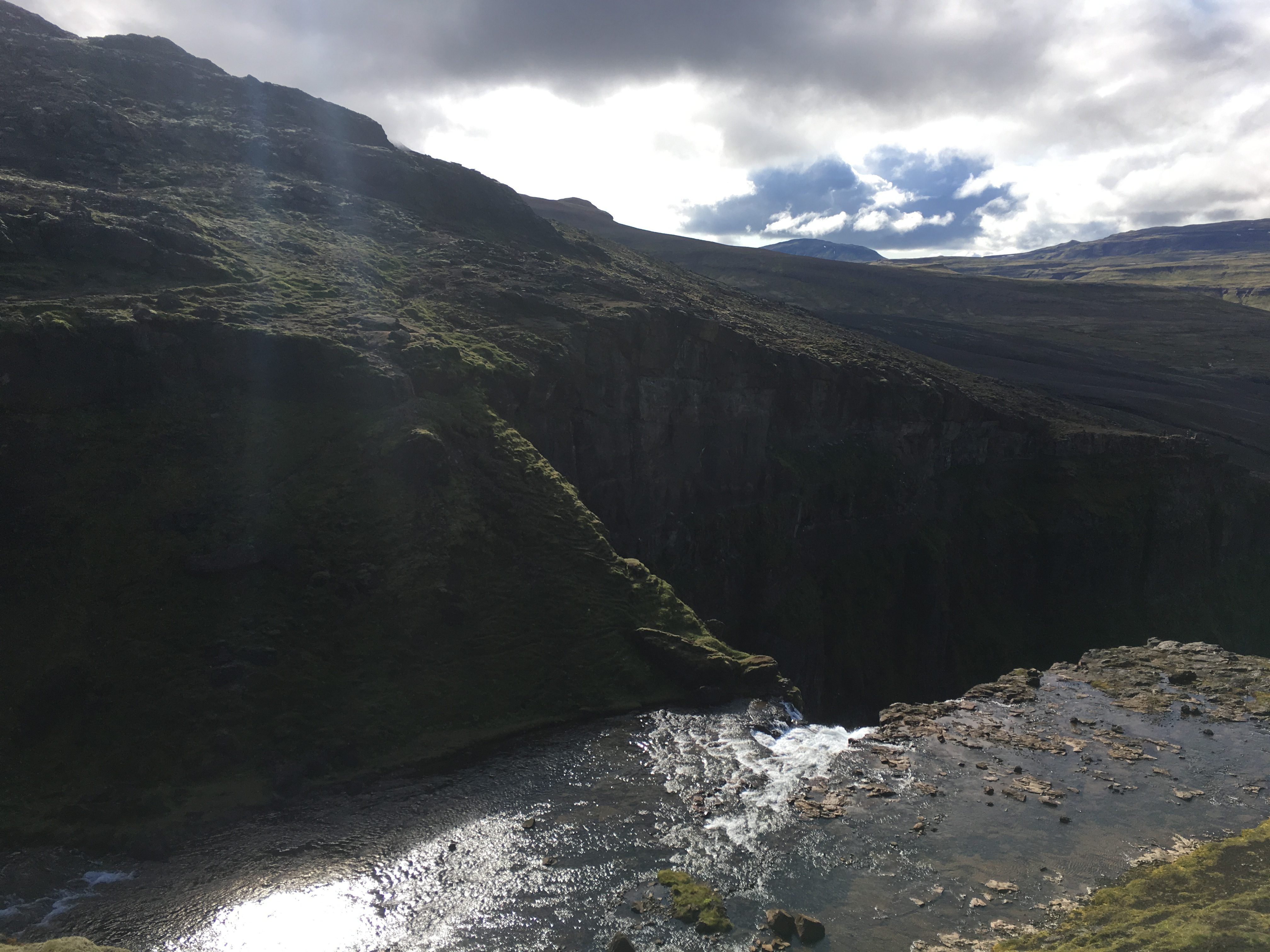 Views From the Top of Glymur Falls
