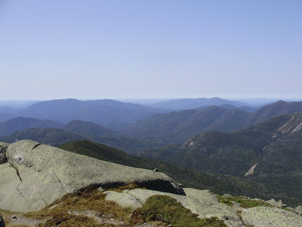 Mount Marcy Hiking Trail Views