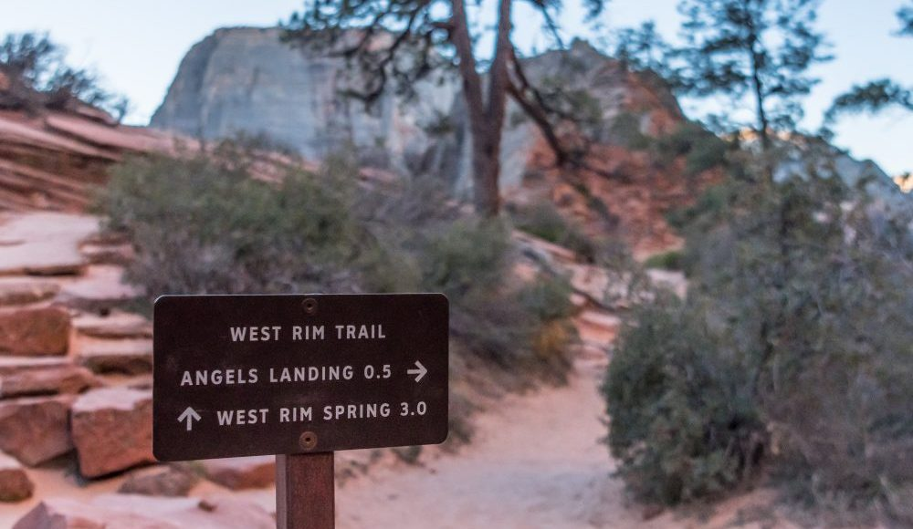 West Rim Trail – Zion National Park, Utah