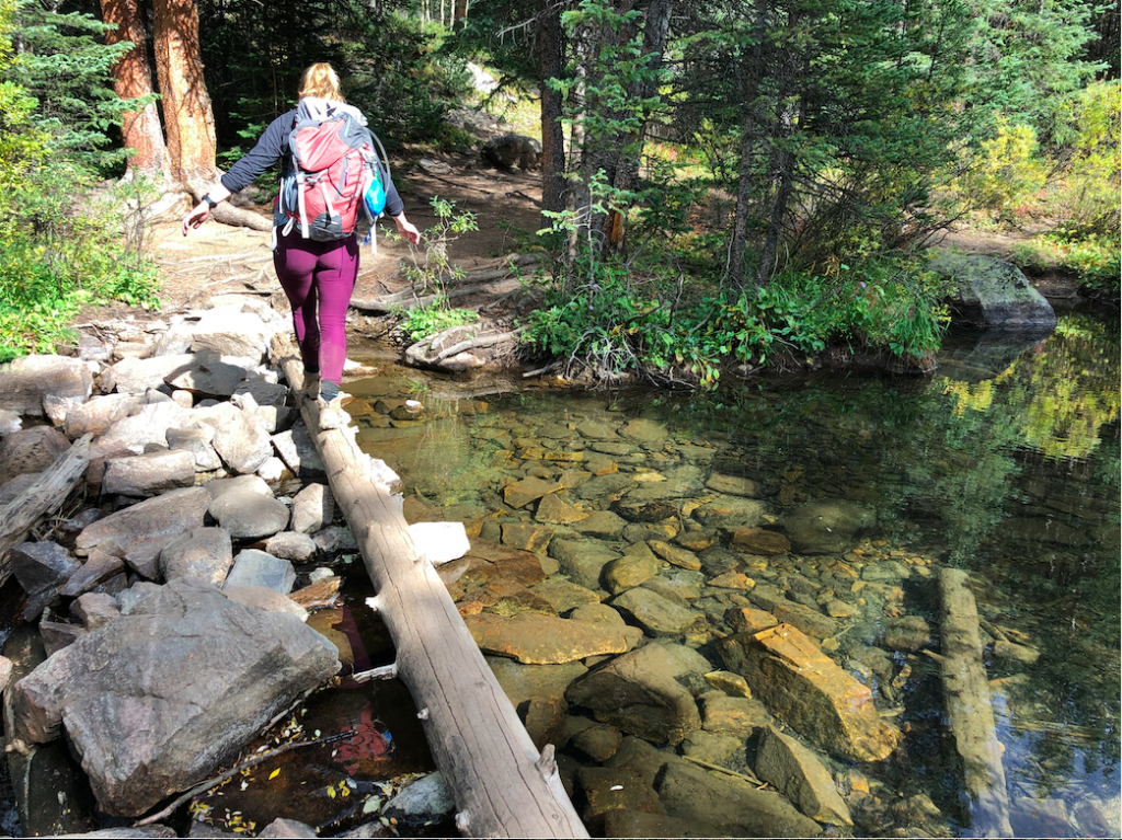 Small Stream Crossing Near Campsites