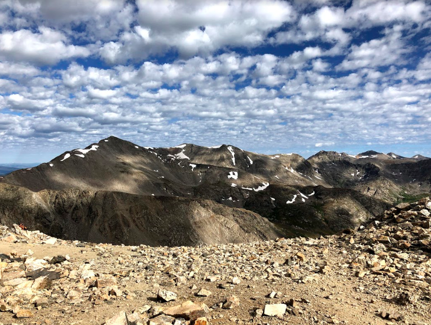 The Connection Between Mount Democrat and Mount Cameron