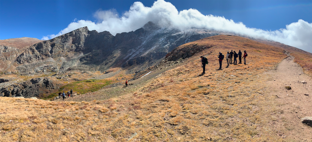 Views of Bierstadt from the Trail