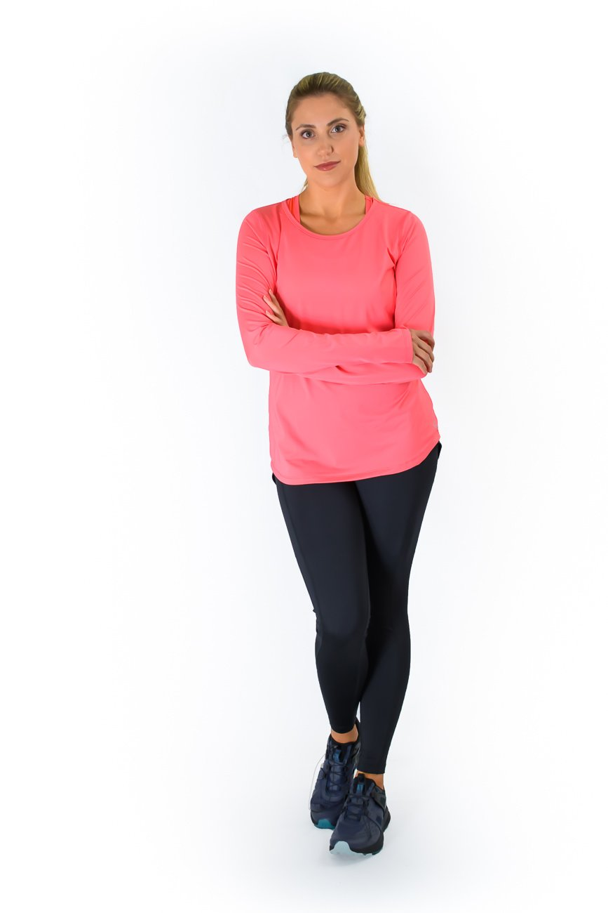 Cerinic Wicking Shirt - Coral Canyon Front View