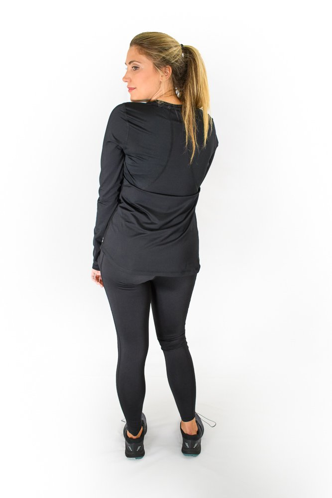 Cerinic Wicking Shirt - Black from the back