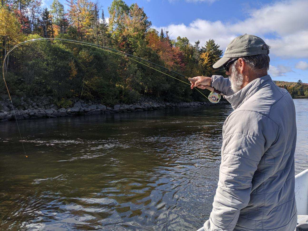 Fly Fishing The Androscoggin River - NH