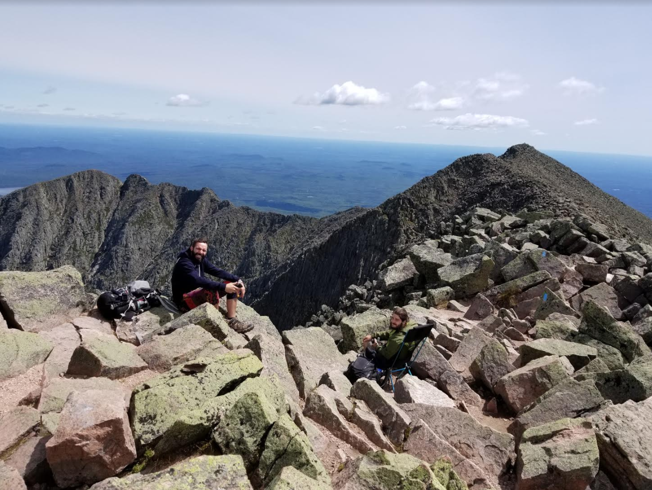 Hiking Hamlin Peak – Baxter State Park, Maine