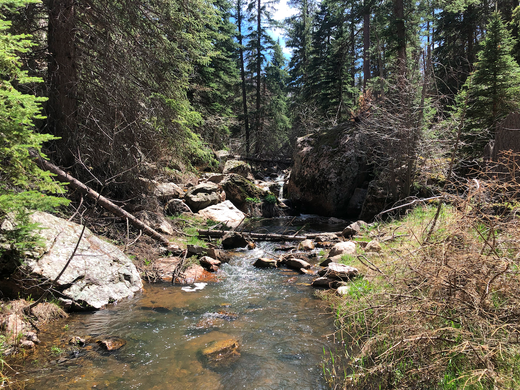 Views During A Water Crossing