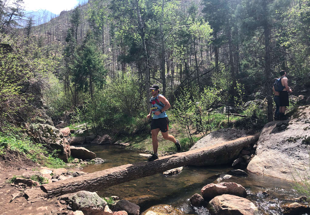A River Crossing On The Young Gulch Trail