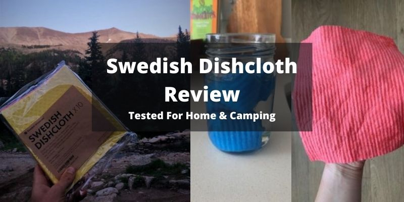 Swedish Dishcloth Towel Review – For Camping, Home & More