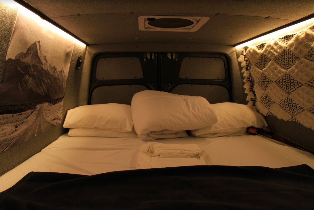 Adventure Campervan Bed