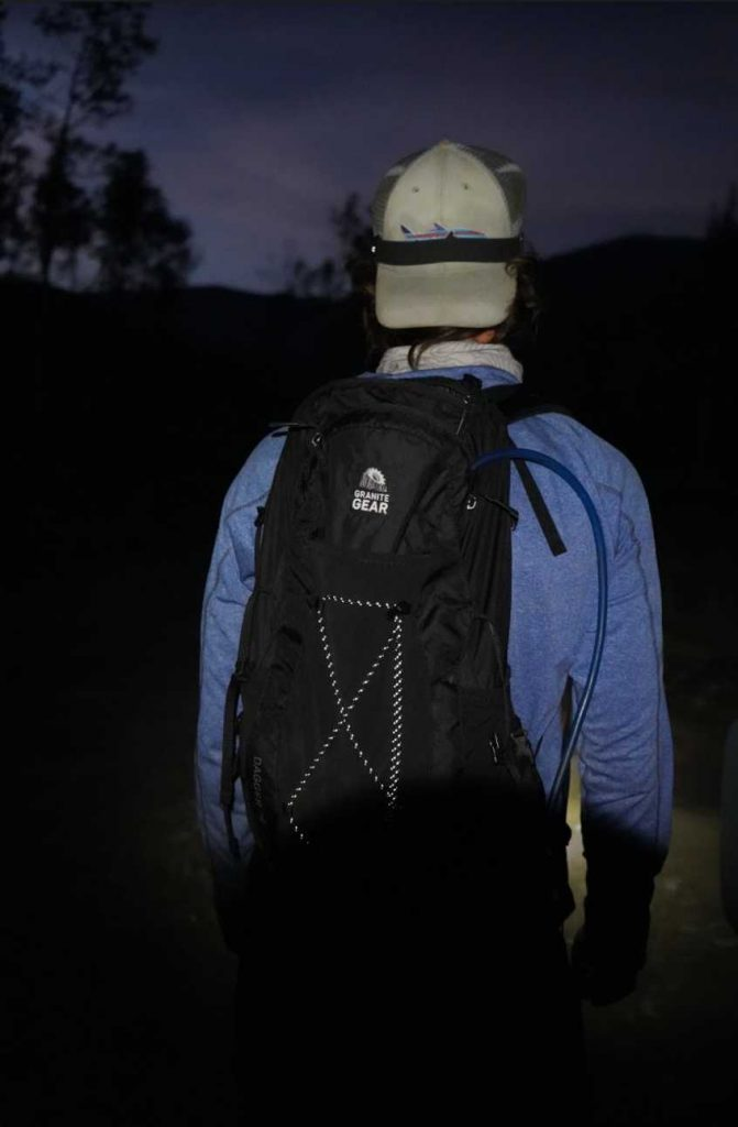 Night Hiking With The Dagger Daypack