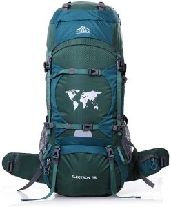 TOPSKY Sports Waterproof Internal Frame Backpack 70L