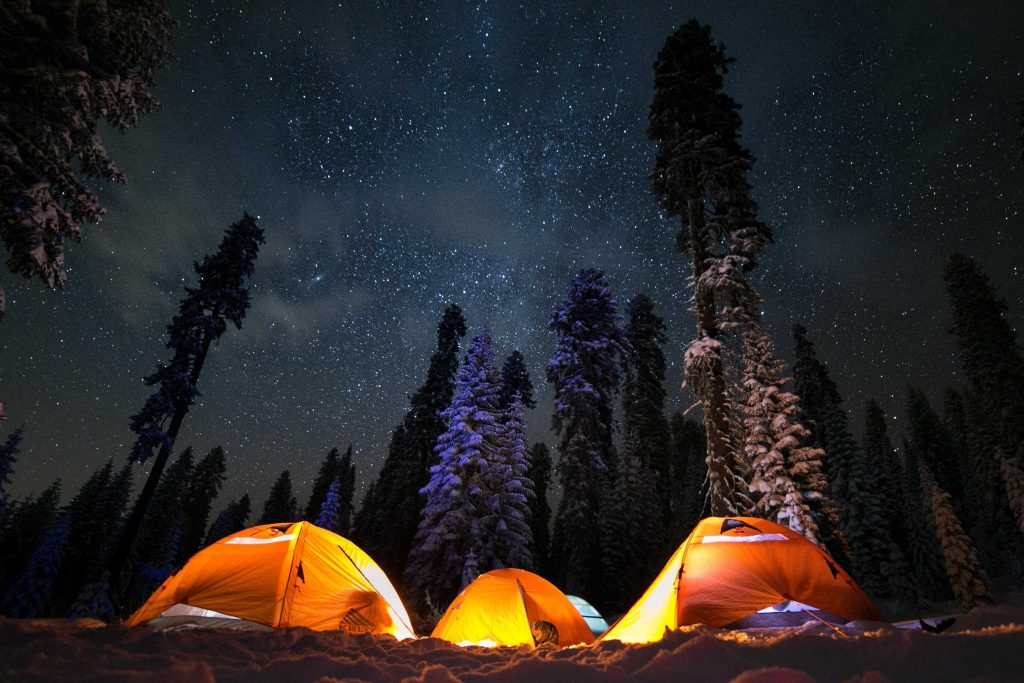 tips for camping in bad weather