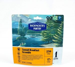 Backpacker's Pantry Summit Breakfast Scramble
