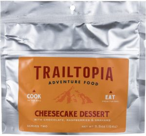 Trailtopia Cheesecake Chocolate Raspberry