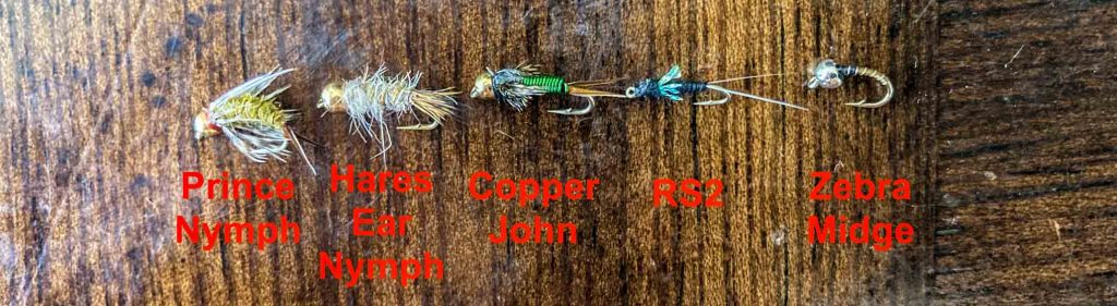 Wet Fly Examples