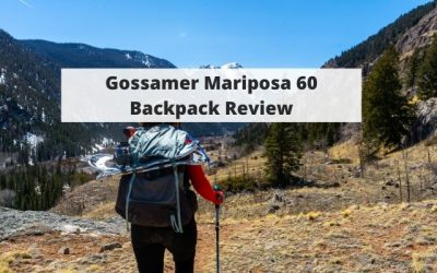 Gossamer Mariposa 60 Backpack Review – Tested In The Mountains