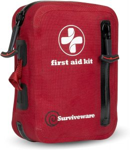 Surviveware Small Waterproof First Aid Kit