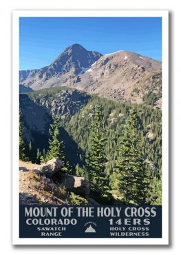 Mount Of The Holy Cross, Colorado 14er Poster